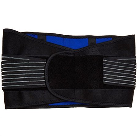 Neoprene Double Pull Lumbar Lower Back Support & Pain Relief Brace Belt