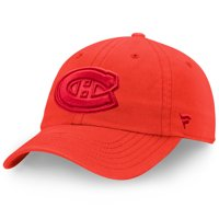 Montreal Canadiens Fanatics Branded Women's Color Hue Fundamental Adjustable Hat - Red - OSFA