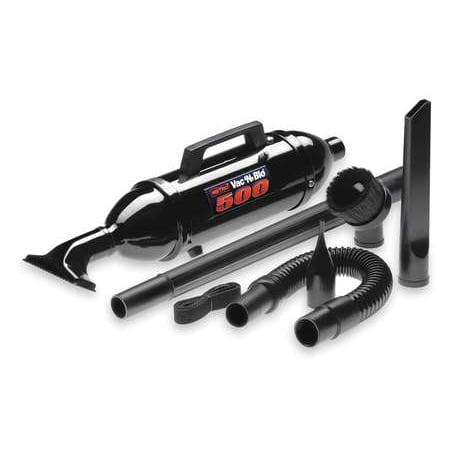 METROVAC Handheld Vacuums,70 cfm,Paper Bag,75 dB