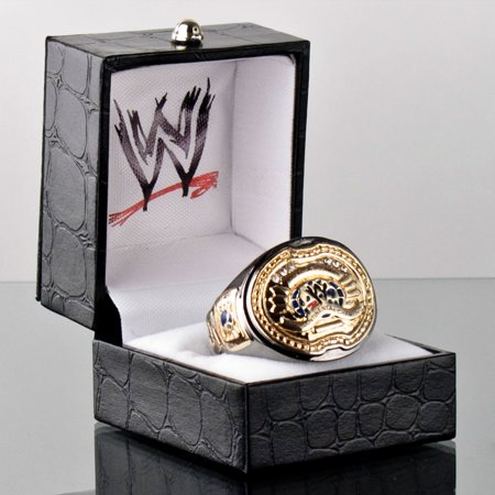 Official Authentic Intercontinental Championship Finger Ring Gold (Cheap Championship Rings)
