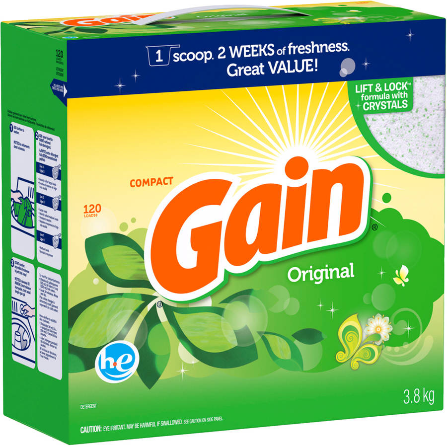 Gain With Freshlock He Original Powder Detergent 120