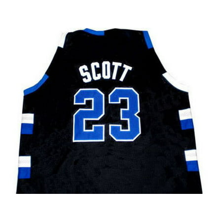 MyPartyShirt - Nathan Scott  23 Black One Tree Hill Ravens Basketball Jersey  Mens Adult - Walmart.com 5668d0905