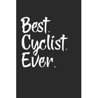 Best Cyclist Ever : Rad Notizbuch Mountain Bike Planner Cycle Notebook Cyclist Journal 6x9 kariert squared