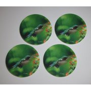 Metrotex Designs Hummingbird Design Coaster (Set of 4)