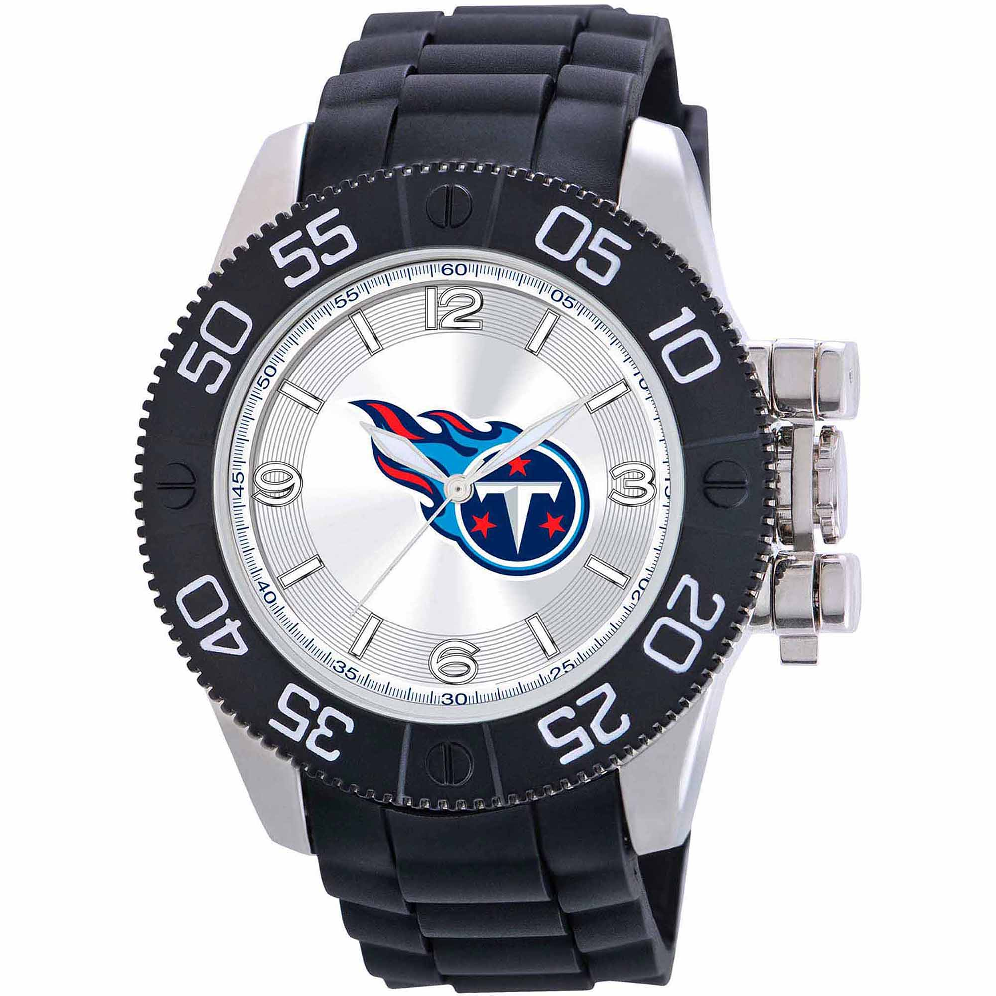 Game Time NFL Men's Tennessee Titans Beast Series Watch