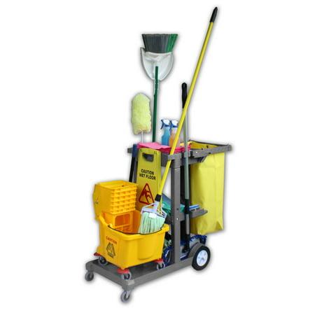 Janitor Cart - Gray - Janitor Cart