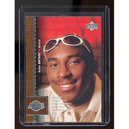 - 1996-97 Upper Deck #58 Kobe Bryant Lakers Rookie Card