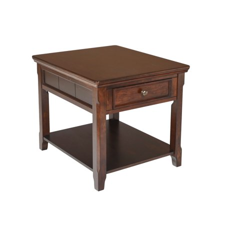 New Classic Furniture Timber City Sable End Table (City Table)
