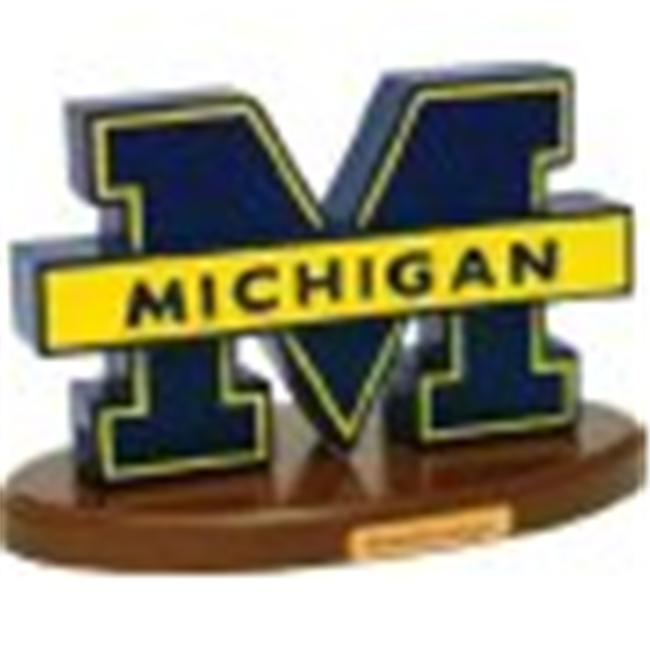 Adventure Furniture C0530-Michigan University of Michigan Desk Logo Art