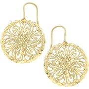 18kt Gold-Tone Filigree Earrings