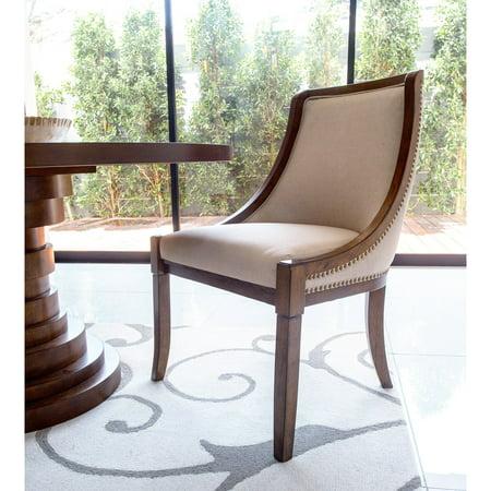 Excellent Abbyson Charleston Side Dining Chair Ibusinesslaw Wood Chair Design Ideas Ibusinesslaworg