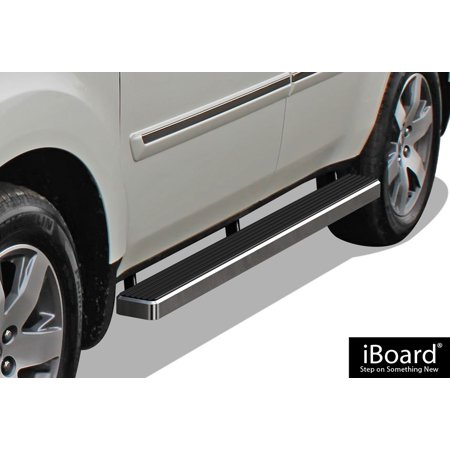 Iboard Running Boards 4   Custom Fit 2009 2015 Honda Pilot Sport Utility 4 Door  Nerf Bars   Side Steps   Side Bars