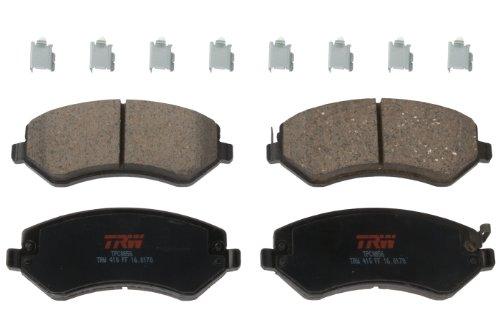 TRW TPC0856 Premium Ceramic Front Disc Brake Pad Set
