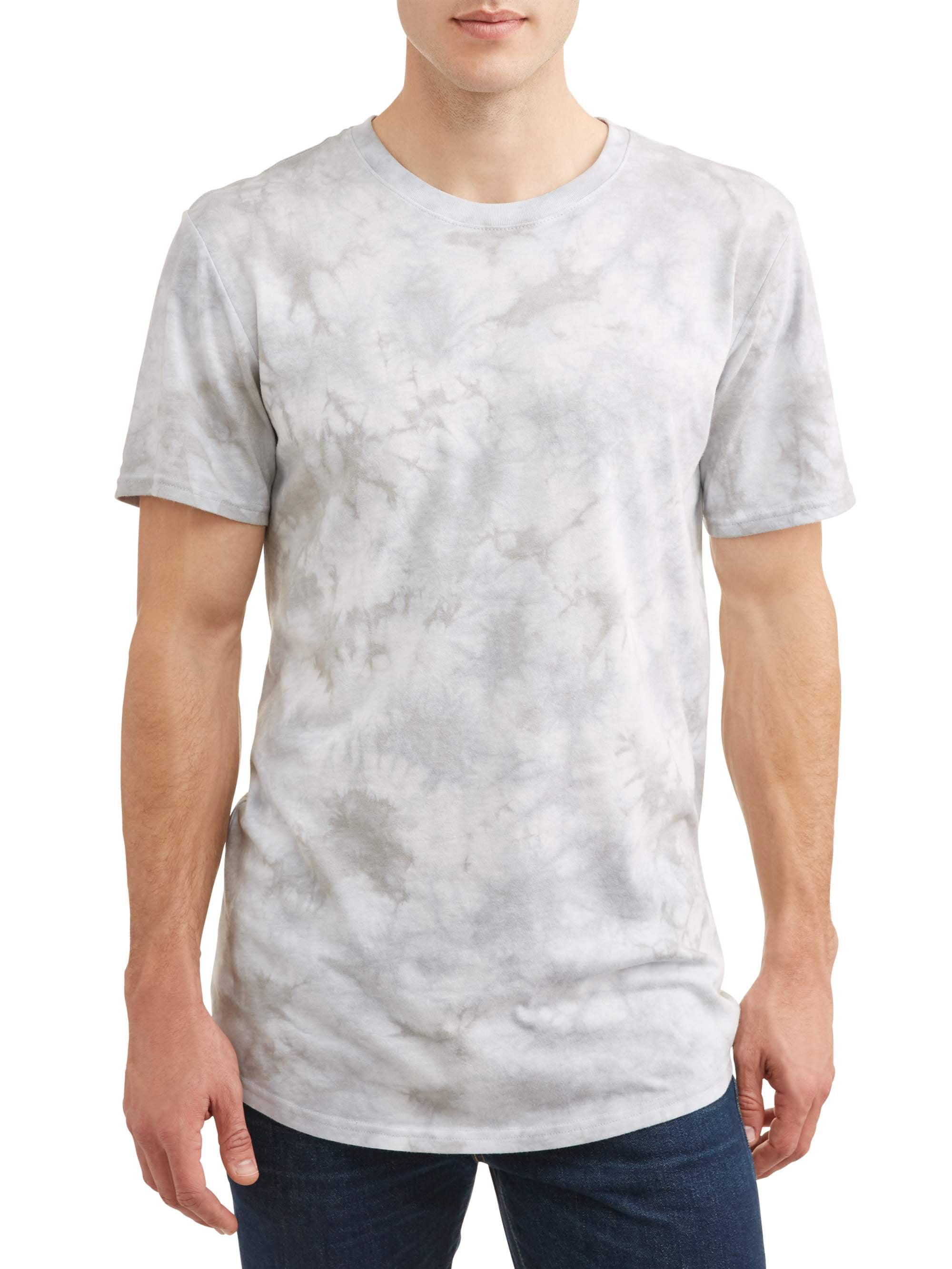 George - George Men's Elongated T-Shirt - Walmart