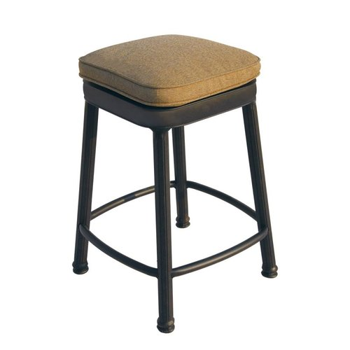 Darlee Backless Square Counter Height Bar Stool by Darlee
