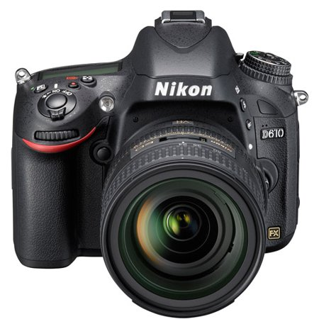 Nikon Black D610 DSLR Camera with 24.3 Megapixels and 24-85mm Lens (Nikon D610 Best Price Usa)