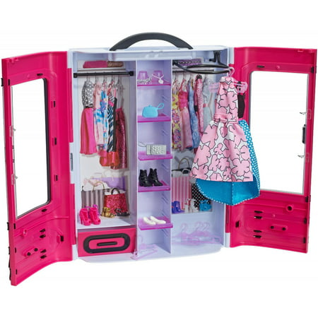 Barbie Fashionistas Ultimate Closet Portable Fashion Fun, - Babies Boutique Clothing