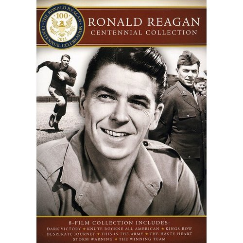 Ronald Reagan Centennial Collection: Dark Victory / Knute Rockne All-American / Kings Row / Desperate Journey / Irving Berlin's This Is The Army / The Hasty Heart / Storm Warning / The Winning Season