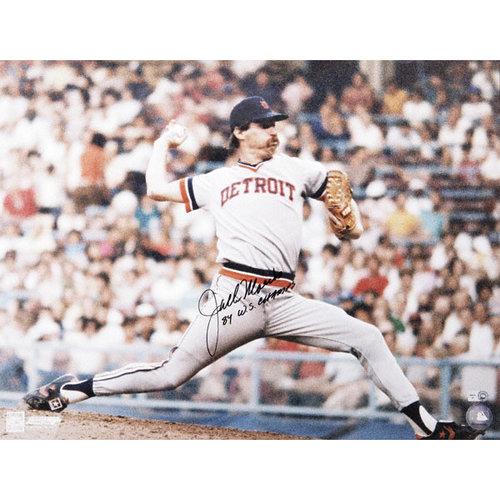 MLB - Jack Morris Detroit Tigers Autographed 16x20 Photograph with 84 WS Champs Inscription