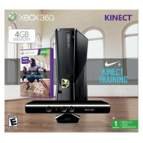 Xbox 360 4GB Kinect Nike Fit Bundle