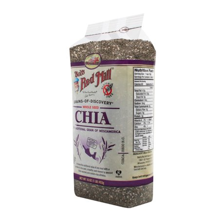 Bob's Red Mill Chia Seeds, 1.0 Lb, 16 Servings