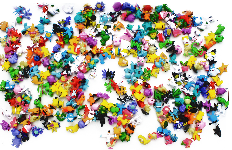 "Pokemon 1"" PVC Mini Figure: Lot of 288 Pieces by Hong Kong 4 U"