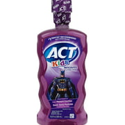 ACT® Kids Anticavity Batman Fruit Punch Fluoride Mouthwash, 16.9 oz