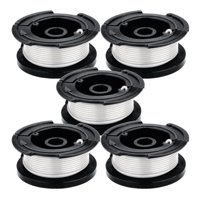 Black and Decker String Trimmer (5 Pack) Genuine OEM Replacement .065 30' String and Spool # 242885-01-5PK