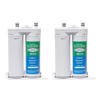 Replacement Water Filter For Frigidaire FRS6LF7GS2 Refrigerator Water Filter by Aqua Fresh (2 Pack)