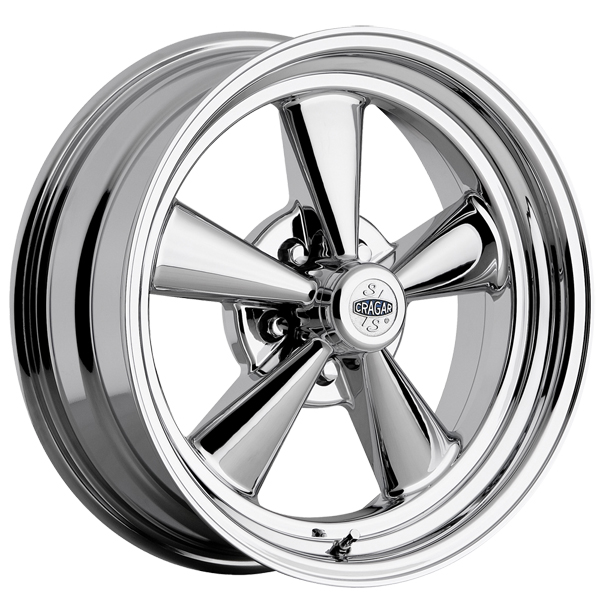 "Cragar 610C G/T 15x8 5x4.75"" +0mm Chrome Wheel Rim"