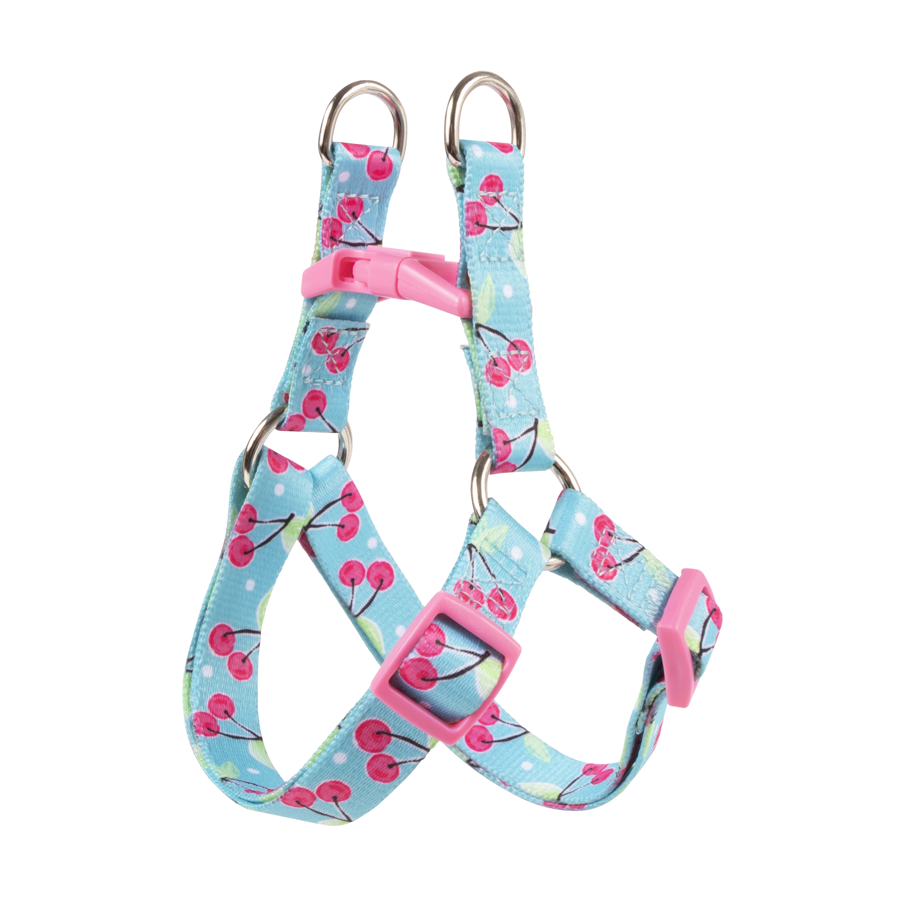 Vibrant Life Step-In Dog Harness, Cherry, Small