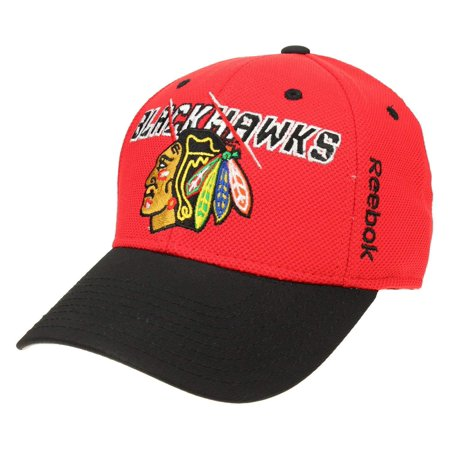 Reebok NHL Men's Chicago Blackhawks Second Season Flex Cap, Red