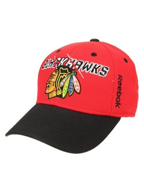 6ac3d6429e4 Product Image Reebok NHL Men s Chicago Blackhawks Second Season Flex Cap