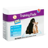 Pet All Star XXL Training Pads, 30 in x 36 in, 40 Count