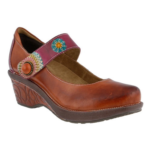 Women's L'Artiste by Spring Step Caliko Mary Jane by