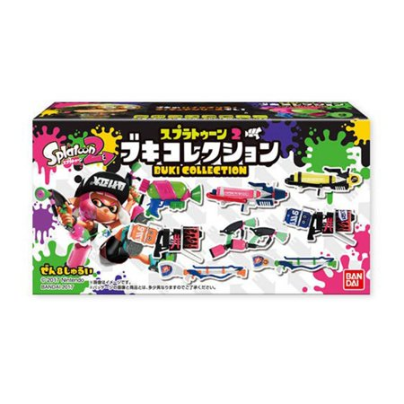 Bandai Splatoon 2 Weapon Collection Volume 1 Blind Box Figure