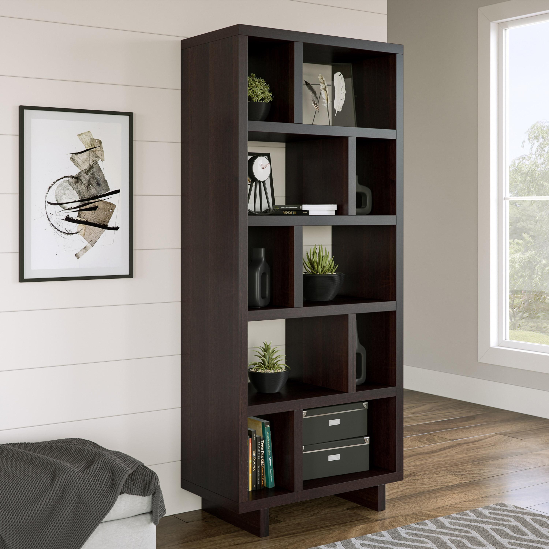 Better Homes Gardens Steele Geometric Bookcase Multiple