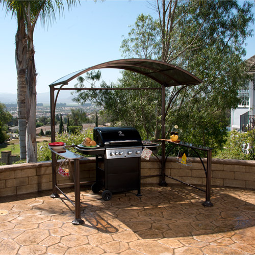 Better Homes and Gardens Wingfield Hard-Top Grill Gazebo 7.2u0026apos; ... & Better Homes and Gardens Wingfield Hard-Top Grill Gazebo 7.2u0026apos ...