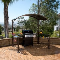 Better Homes and Gardens Wingfield Hard-Top Grill Gazebo, 7.2' x 4.9'