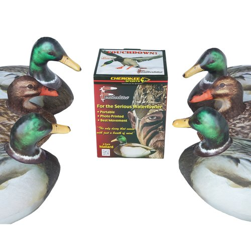 Cherokee Sports Featherlite Mallard Decoys, 6pk