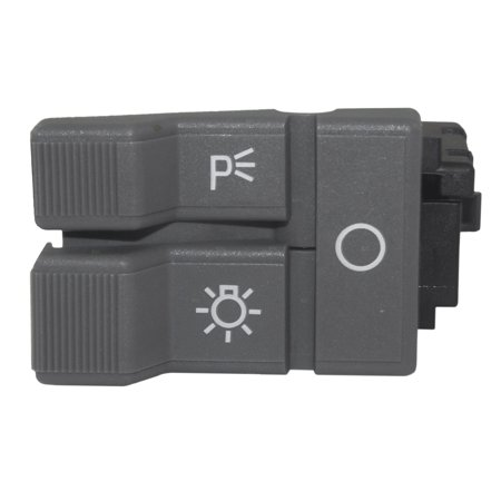 Headlight Headlamp Dimmer Switch Gray Replacement for Chevrolet GMC Pickup Truck Suburban Blazer Yukon 19245374