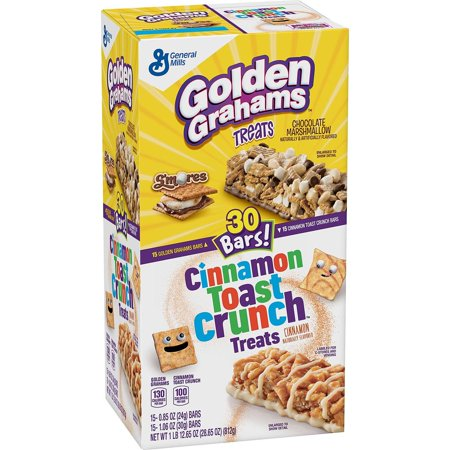Golden Graham and Cinnamon Toast Crunch Treat Bars (30 ct.)