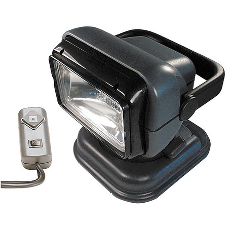 GOLIGHT 5149 Spotlight, Remote-Controlled, Charcoal