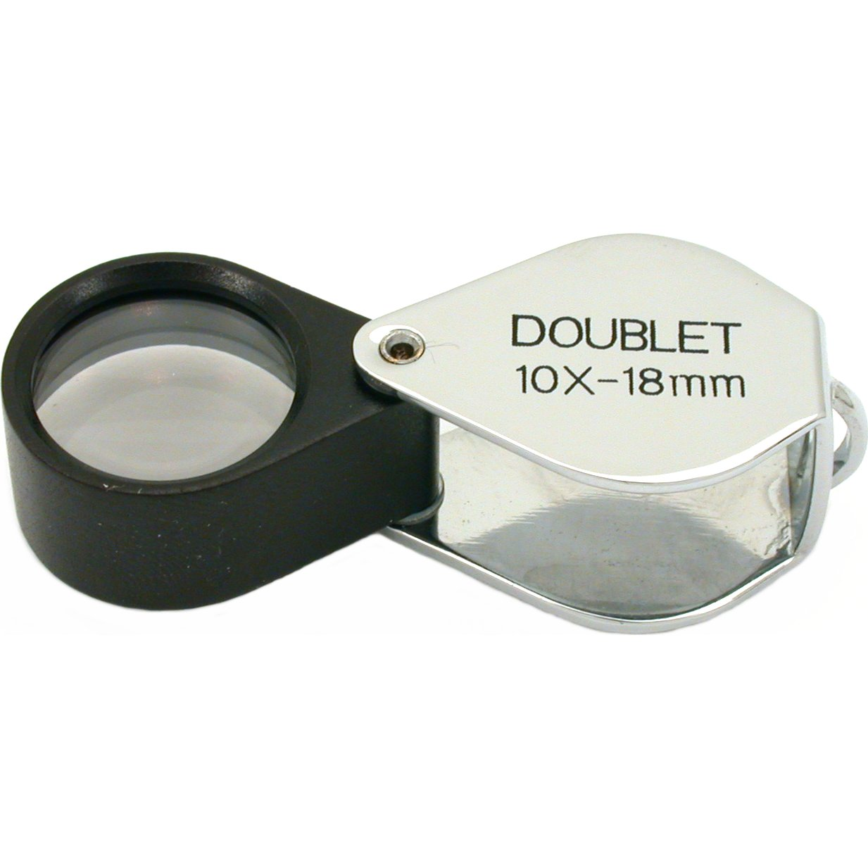 10x Jewelers Loupe Folding Magnifier Tool 18mm Lens