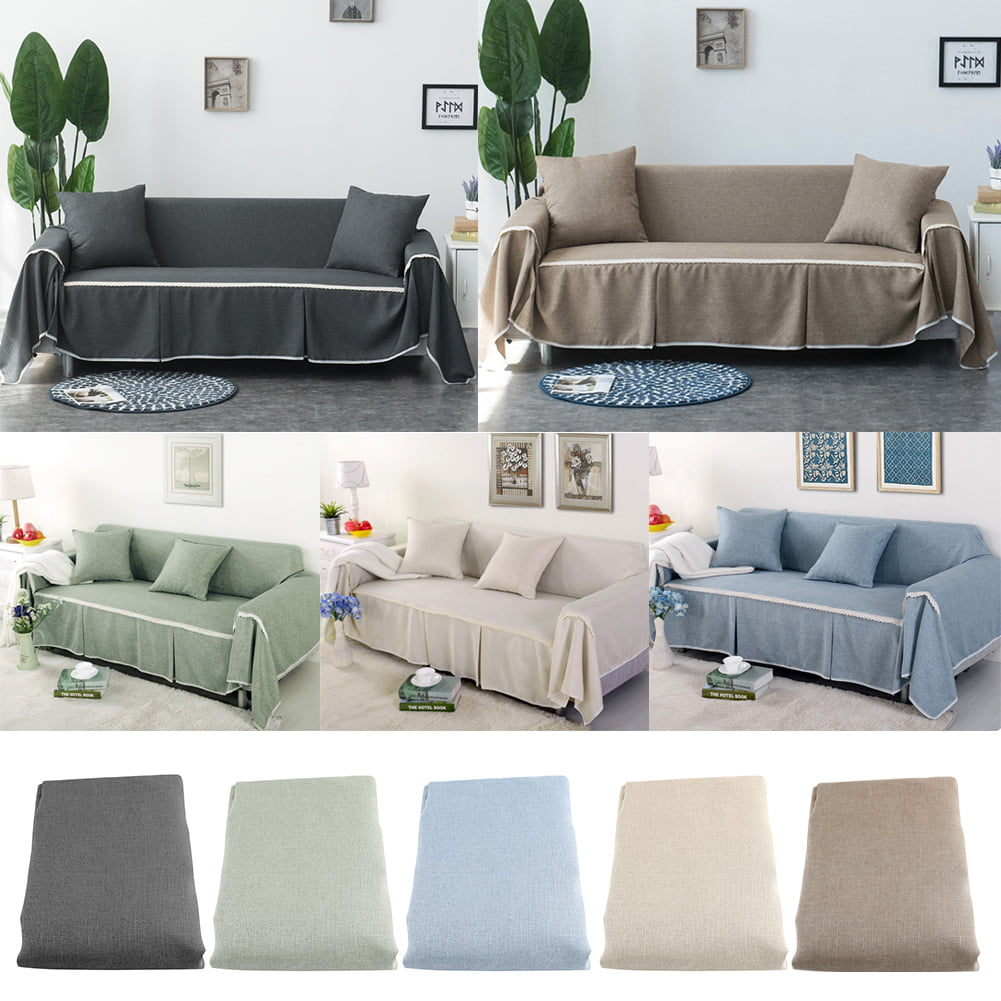 WALFRONT Couch Cover Slipcover Comfortable Sofa Couch