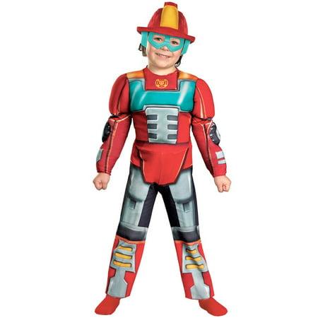 Transformer Dress Up (Transformers Heatwave Rescue Bot Kids)