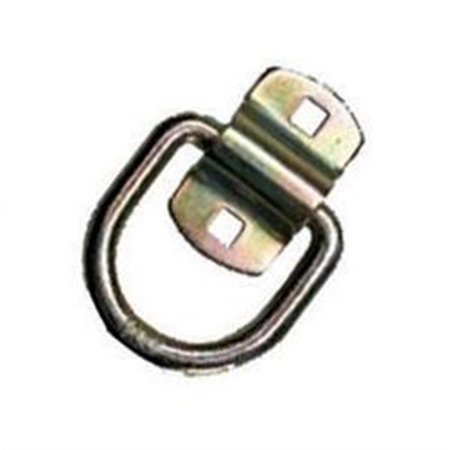 Pacific Carg DR050Z 0.5 In. Forged D-Ring With Bolt-On Clip 0.5' Ez Turn Ring