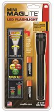 Mini-Maglight Led Flashlight 2-Aa With Holster by Maglite