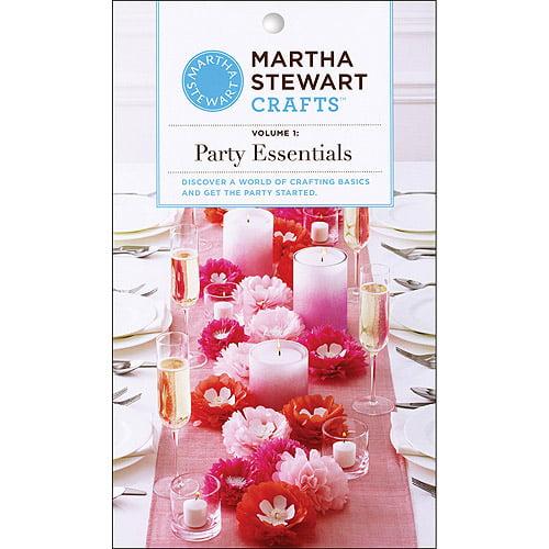 Martha Stewart Crafts Vintage Girl Party Craft Booklet