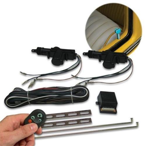 AutoLoc Power Accessories AUTCK4000 4 Door Remote Central Lock Kit